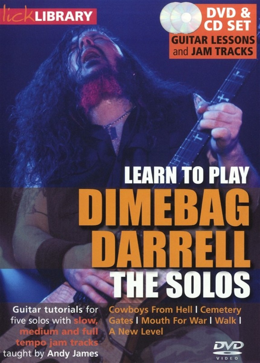 Lick library guitar techniques dimebag darrell, gifs excellent babe anal
